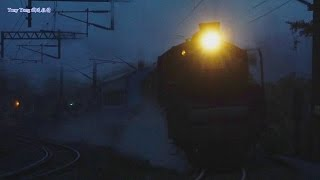 5856A次 CT273蒸汽火車(台湾のC57形蒸気機関車)+R40柴電機車 回送 牡丹南