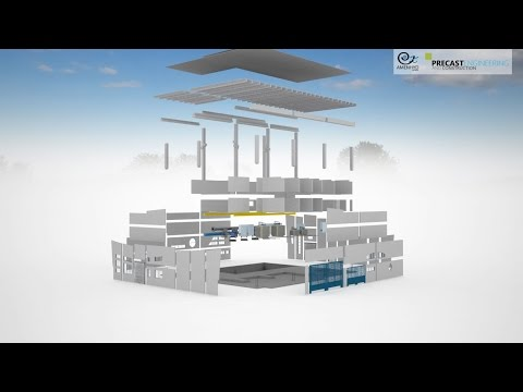 3D Visualization : Precast Water Pumping Station