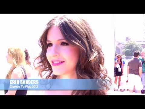 Erin Sanders : Chance To Play 2012