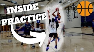 What Is The First Basketball Practice Like At The D3 Level?!