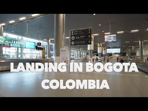 Travel Experience - Arrival in Bogota, Colombia El Dorado Airport 7/6/21
