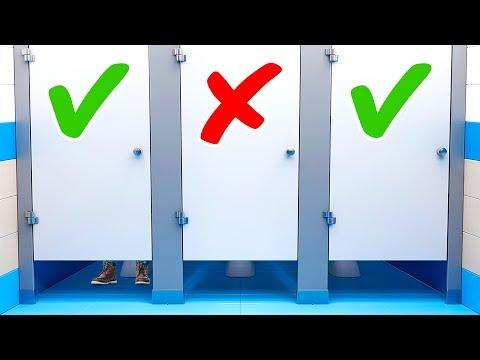 Halka Açık Tuvaletler Sandığımız Kadar Tehlikeli mi?