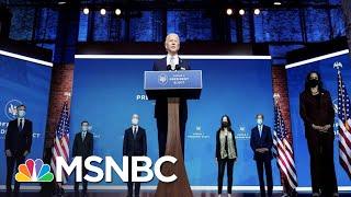 Biden Unveils Team As Trump Ignores Transition Now Underway | The 11th Hour | MSNBC