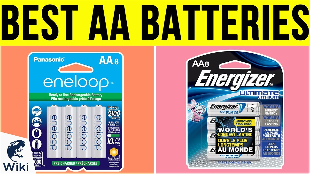Top 9 AA Batteries of 2019 | Video Review