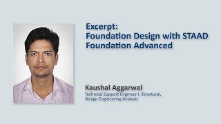 Foundation Design With STAAD Foundation Advanced