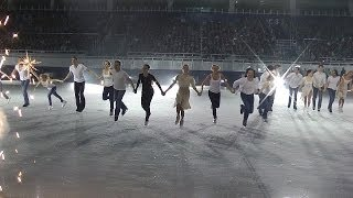 We Are the Champions: Russian Olympic Figure Skaters Perform in Sochi
