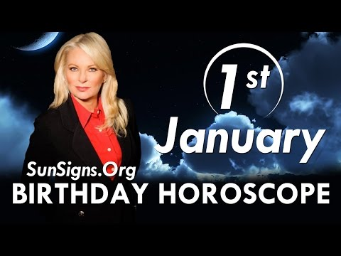 Birthday January 1st Horoscope Personality Zodiac Sign Capricorn Astrology