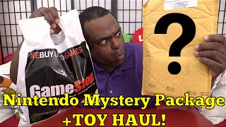 NINTENDO MYSTERY PACKAGE + TOY HAUL!