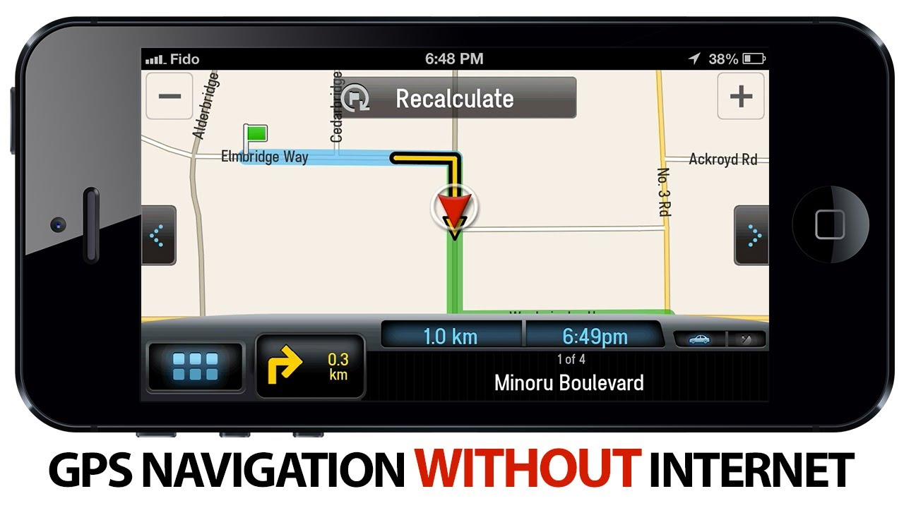 How to use GPS Navigation WITHOUT Internet on iPhone
