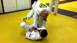 Standing Guard Pass – Knee Cut
