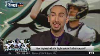 [BREAKING NEWS] Eagles defeat Redskins 24-0 to clinch playoff berth - First Things First