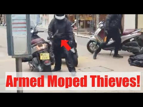 Motorcycle Theft | Moped Thieves Compilation UK 2018
