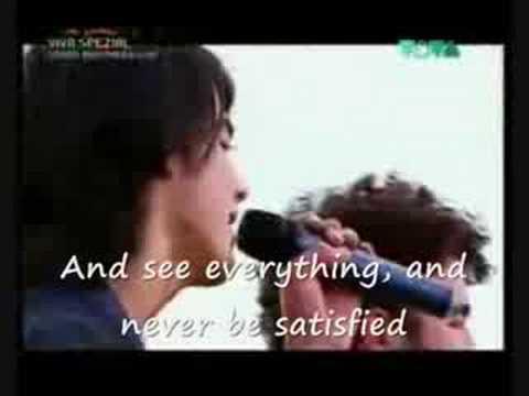 Jonas BrothersHello Beautiful Lyrics on screen Viva