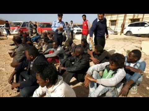 تقرير أممي يشير لصلة عصابات تهريب البشر بمؤسسات رسمية ليبية