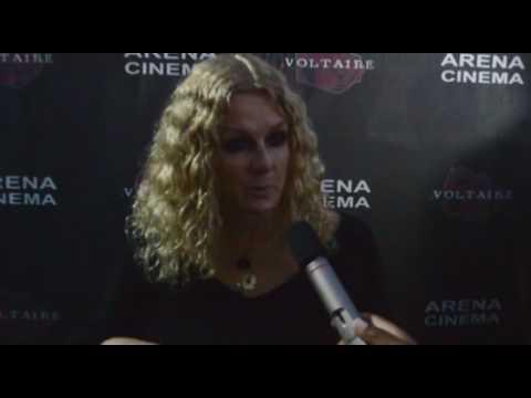 Susan Traylor talks with Brian Sebastian at the 'El Ganzo