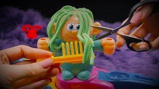 헤어드레서 클레이|탈모 전문 미용실 상황극|Beauty Salon ASMR|자라나라 머리머리|Hairdresser Toy Roleplay