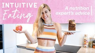 INTUITIVE EATING EXPLAINED | HOW TO START & IS IT RIGHT FOR YOU? Ft. Renee McGregor 🔬🙌
