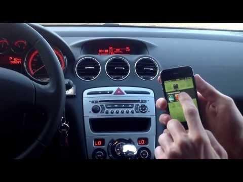 Подключаем IPhone к автомагнитоле.