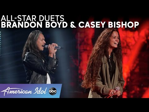 """Casey Bishop Rocks Out With Paramore's """"Decode"""" & A Brandon Boyd Duet - American Idol 2021"""