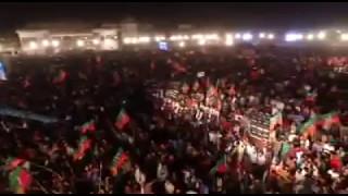 Huge Crowd at PTI Janooni Jalsa in Nowshera, Kpk, Naya Pakistan