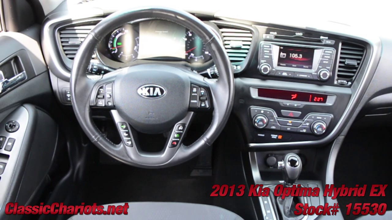 used 2013 kia optima hybrid ex for sale in san diego stock 15530 youtube. Black Bedroom Furniture Sets. Home Design Ideas