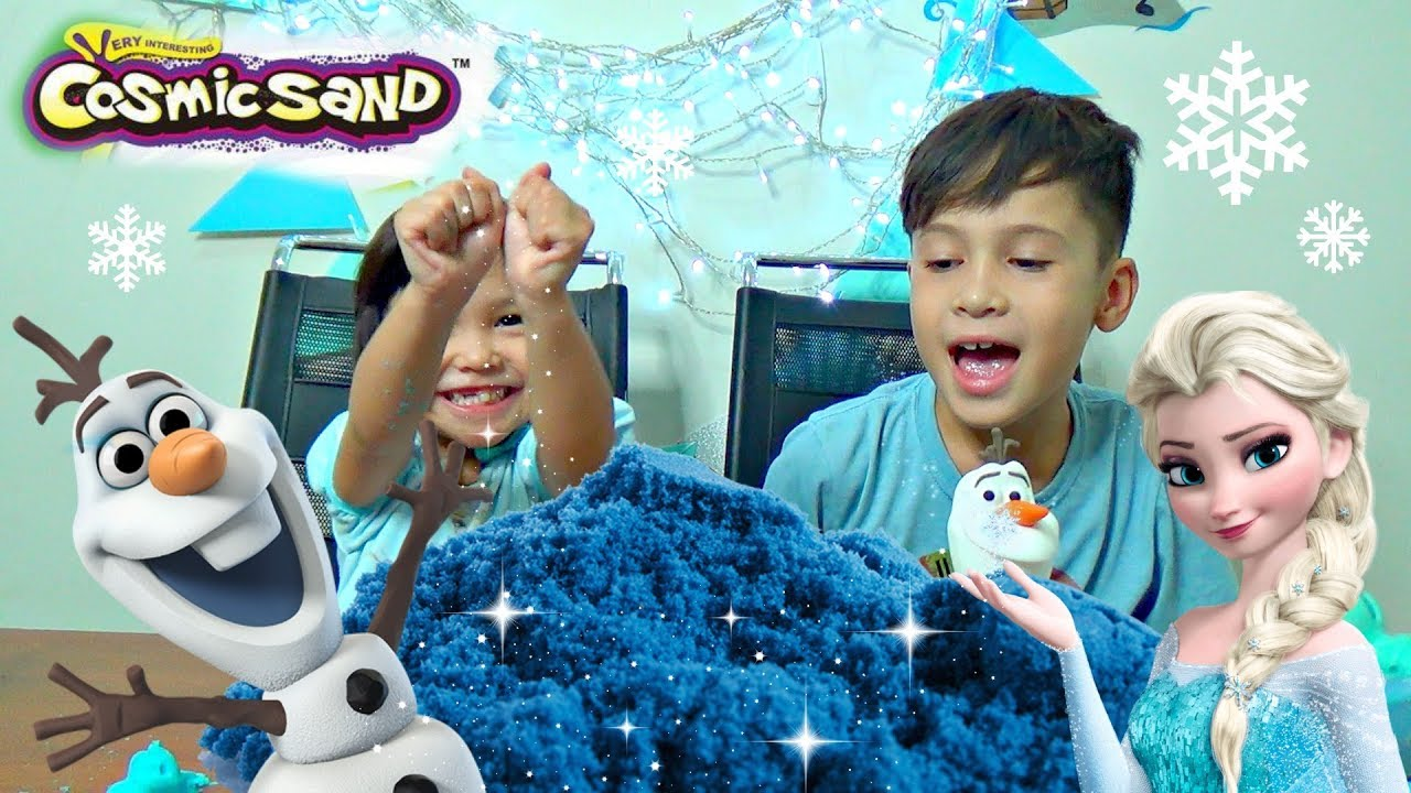 Cosmic Frozen Kinetic Sand Mainan Pasir Ajaib Youtube Boneka Hello Kitty Wedding14ampquotn A