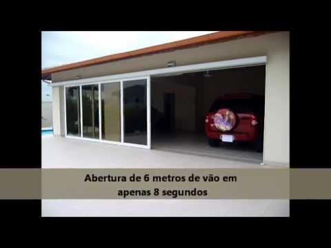 Porta Autom 225 Tica De Garagem Tecnoport Projeto Especial