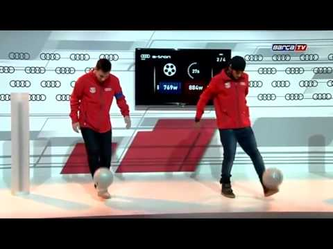 Messi VS Neymar : concours de jongle HD