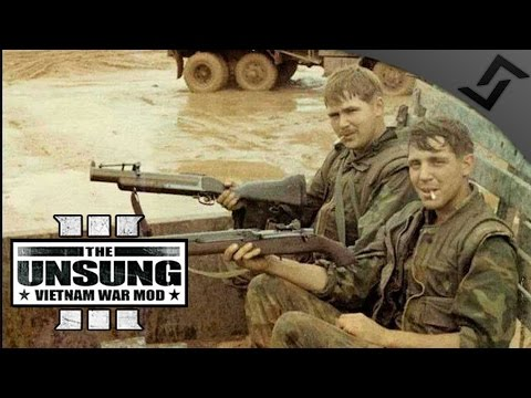 M79 Thumper Defense vs NVA - ARMA 3 Unsung Vietnam Mod Gameplay - Delta Version