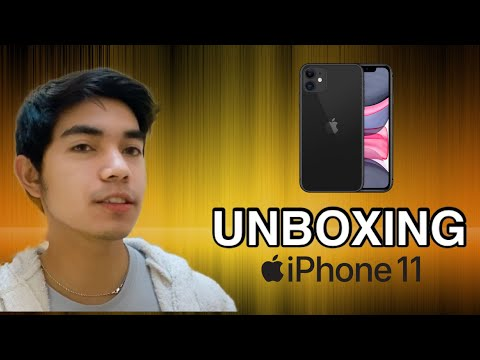 Unboxing Iphone 11 (black) First Look And Set Up
