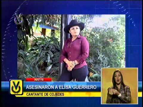 Download Asesinaron dentro de su vivienda a la cantante de música llanera Elisa Guerrero