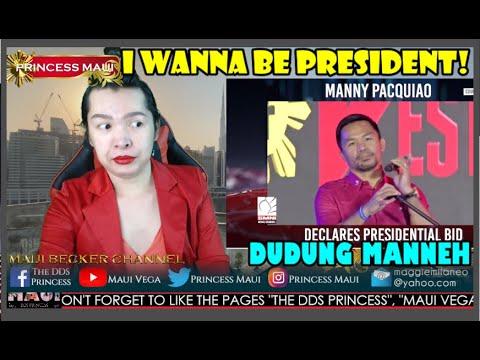 Download VIRAL! | MANNY PACQUIO, CONFIRMED NANG TATAKBONG PRESIDENTE!