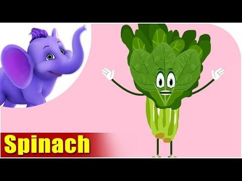Spinach - Vegetable Rhyme