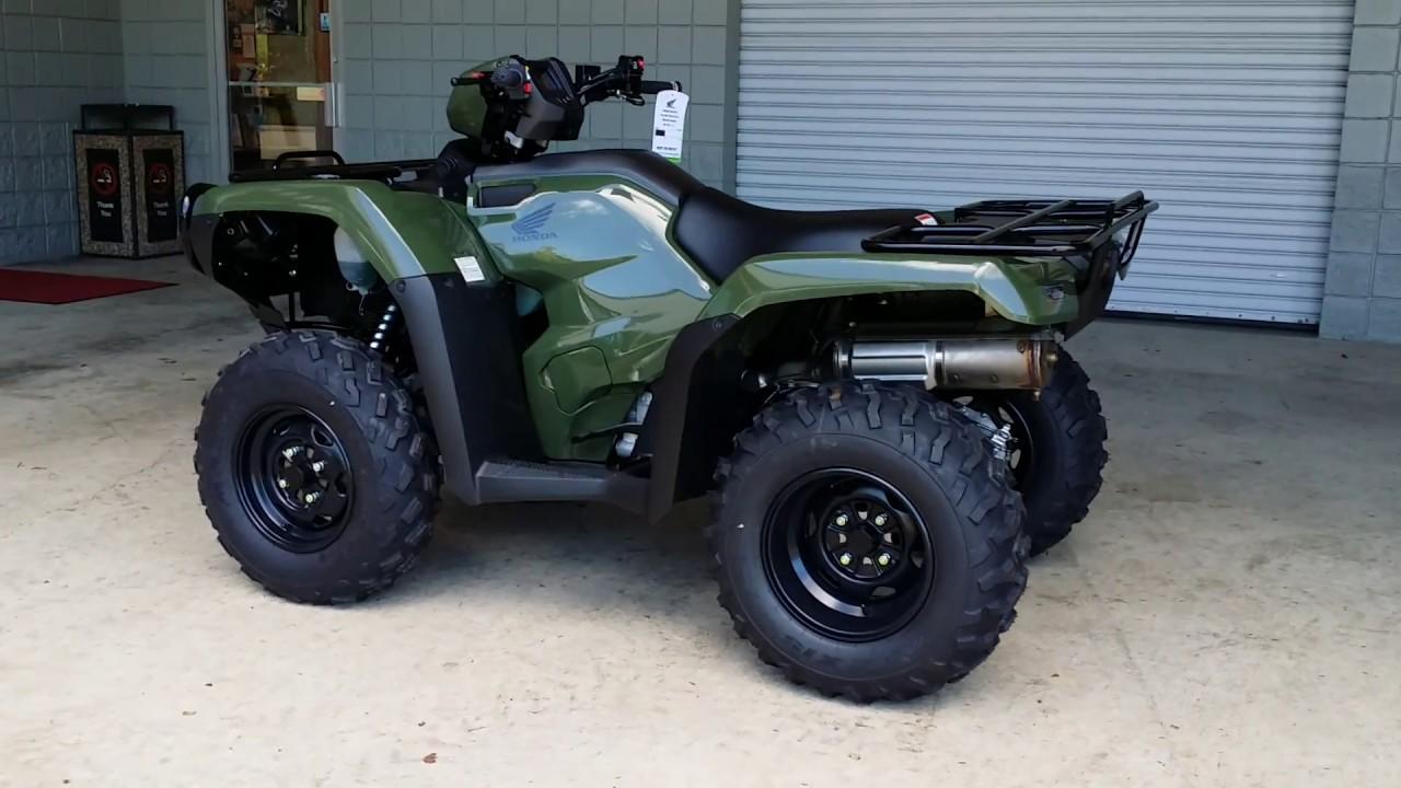 Honda Foreman 500 >> 2016 Honda FourTrax Foreman 500 ATV / TRX500FM1G - Walk Around Video (Green) - YouTube