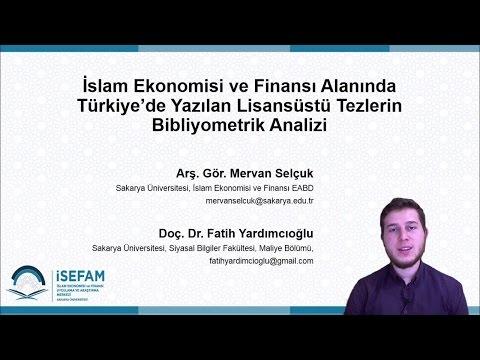 İslam Ekonomisi ve Finansı Alanında Türkiye'de Yazılan Lisansüstü Tezlerin Bibliyometrik Analizi