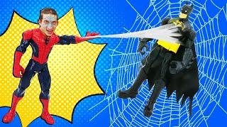 Человек Паук и Фабрика Героев – Как получить силу Спайдермена? – Видео игры для мальчиков