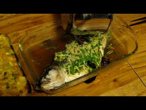 Steamed Mullet, Big Island Style!