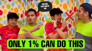Only 1% People In The World Can Do This Trick😱 - #Shorts