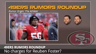 49ers Rumors: Potentially No Charges For Foster, Week 1 Game vs Packers, And Eric Reid Returning