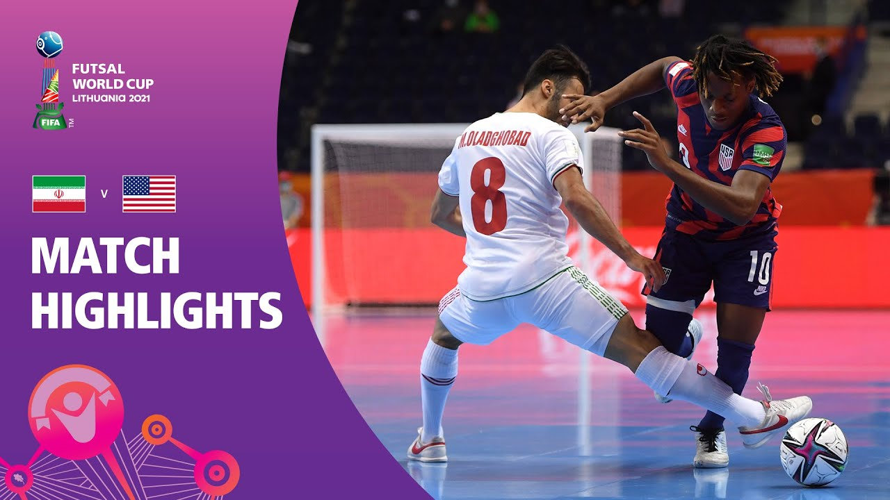 Download IR Iran v USA | FIFA Futsal World Cup 2021 | Match Highlights