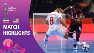 IR Iran v USA | FIFA Futsal World Cup 2021 | Match Highlights