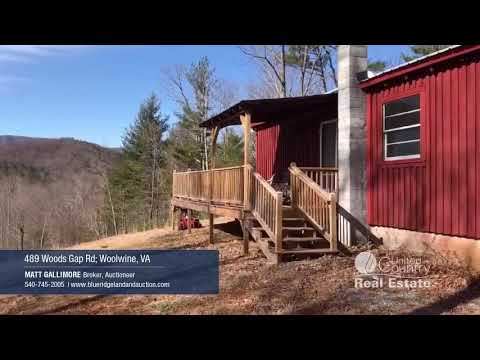 Cabin With River Frontage For Sale In Patrick County