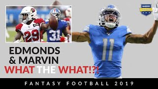 Week 7 Fantasy Football Recap: Chase Edmonds, Marvin Jones & Hunter Henry