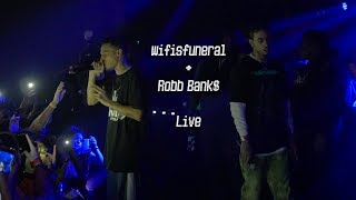 Robb Bank + Wifisfuneral CONN3CT3D TOUR Live in Los Angeles 1720 Warehouse