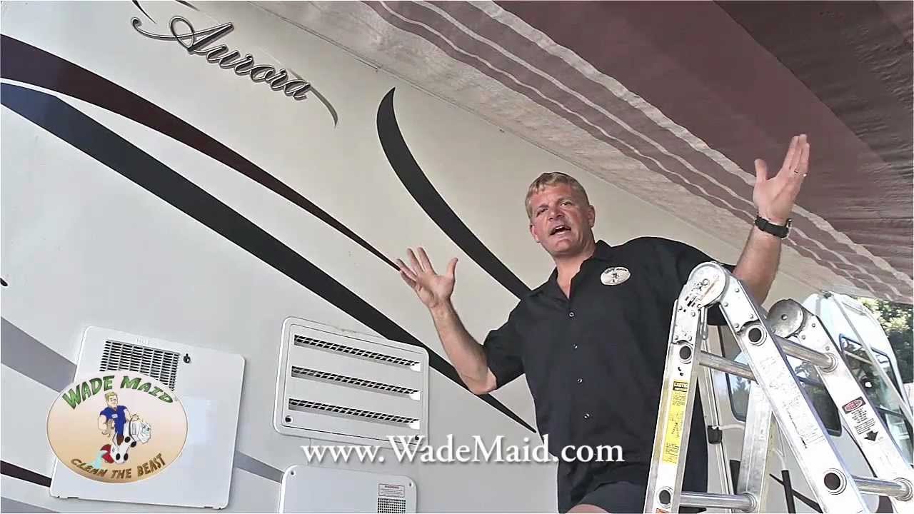 Cleaning Your RV Awning