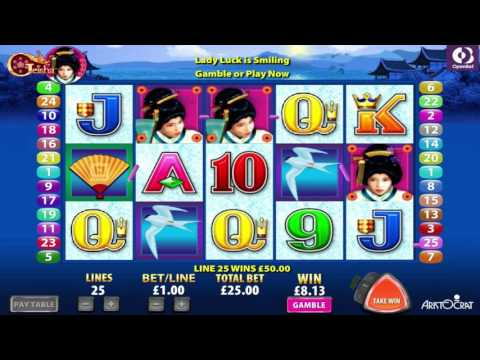 Free Geisha Slot by Aristocrat Video Preview | HEX