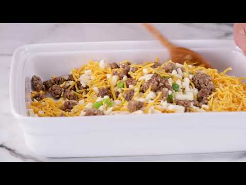 Impossibly Easy Breakfast Bake (Crowd Size) | Betty Crocker Recipe