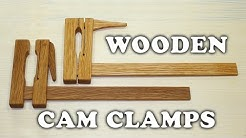 Making Wooden Cam Clamps