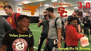 USC Vs Texas College Pregame Day Vlog.... Hotel Prank, WhataBurger First Time (Behind the Scenes)