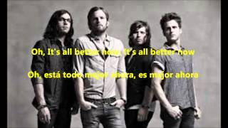 Kings of Leon - Wait for me SUBTITULADO (Inglés/Español)